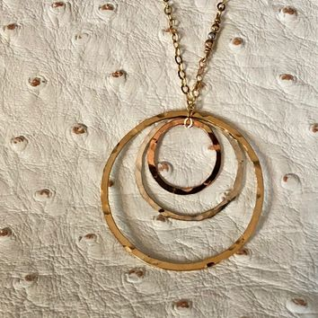 Nesting Ring Necklace
