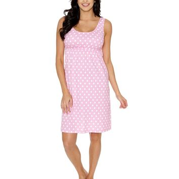 Molly Maternity & Nursing Sleeveless Nightgown