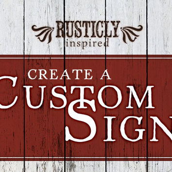 Custom Sign Personalized Sign Pallet Sign Rustic Vintage Shabby Chic Primitive Wooden Distressed Sign