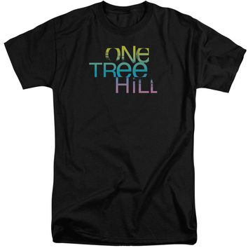 One Tree Hill - Color Blend Logo Short Sleeve Adult Tall