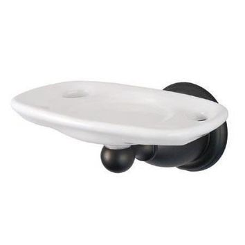 BA1756ORB  Heritage Wall Mount Toothbrush and Tumbler Holder