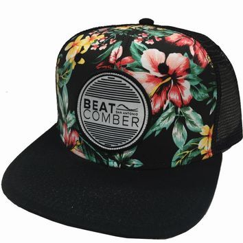 Phantom Vibrations Hat - Black/Hawaiian