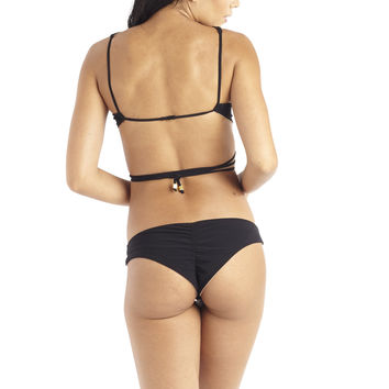 Perfect Peach 22 Tango Bikini Bottom - Black