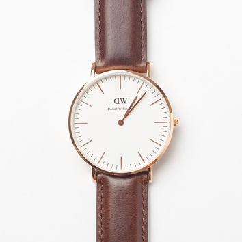 Classic Bristol 36mm Brown Rose