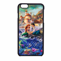 Disney Paintings Ariel The Little Mermaid iPhone 6 Case