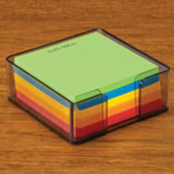 Personalized Memo Cube - Set of 348
