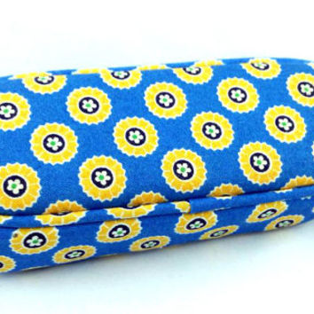 New Without Tags Riviera Blue Vera Bradley Eyeglass Case FREE SHIPPING!!