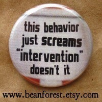 this behavior SCREAMS intervention by beanforest on Etsy