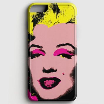 Andy Warhol Marilyn Monroe Pop Art Iconic Colorful Superstar Cute iPhone 8 Case | casescraft