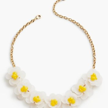 Flowers & Beads Necklace | Talbots