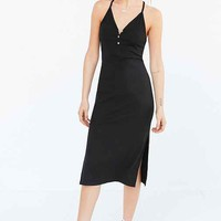BDG Ribbed Henley Midi Dress