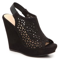 Chinese Laundry Midnight Wedge Sandal