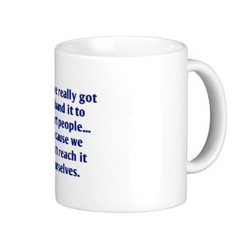 For Short Folks With a Sense of Humor Coffee Mug