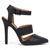LOVE POTION HEELS - BLACK