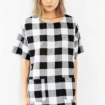 Cooperative Check Me Out Shift Dress