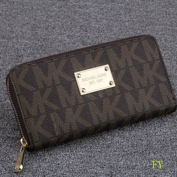 MICHAEL KOR WOMENS WALLET CLUTCH MK_HANDBAG TOTES PURSE