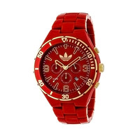 Adidas Men's Melbourne ADH2744 Red Plastic Quartz Watch with Red Dial