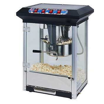 Popcorn Machines 8oz Winco Showtime Popcorn Machine Electric Countertop