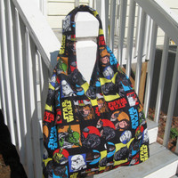 young Ladies Star Wars Hobo Shoulder Bag by BurlapDreams on Etsy