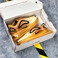 Nike Air Max 720 Desert Gold Sport Running Shoes - Best Online Sale