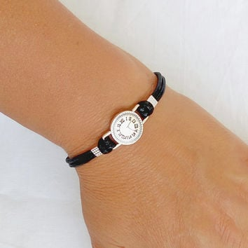 Bracelet Watch Charm Bracelet Unisex Bracelet Bracelet for Women Bangle Bracelet Silver Charm gift for friend Jewelry Bracelet