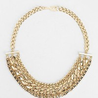 Chunky Mixed Chain Necklace - Urban Outfitters