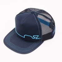 Shop Neon Whaleline Trucker Hat at vineyard vines