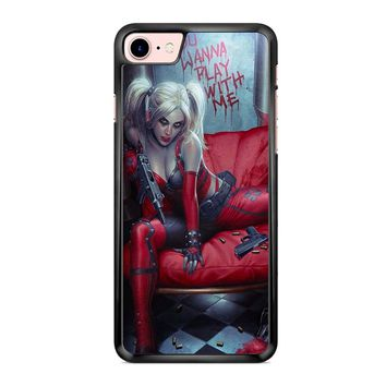 Harley Quinn Batman Arkham City iPhone 7 Case