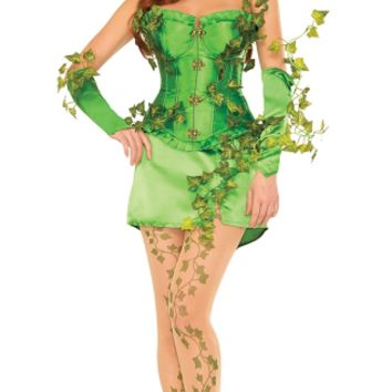 Deluxe Intoxicating Ivy Costume, Sexy Ivy Maiden Costume, Ivy Villain Costume