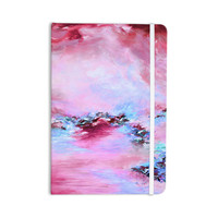 "Ebi Emporium ""Sea To Sky 3"" Pink Abstract Everything Notebook"