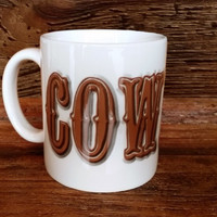 The Cowboy/Cowgirl Coffee Mug