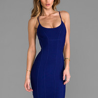 BCBGMAXAZRIA Nadine Dress in Orient Blue