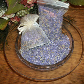 Lavender Potpourri Scent Infused Wax Beads and Botanicals Fragrant Home Decor Craft Supplies Favor Showers Baby Bridal Wedding 2 Ounce Bag