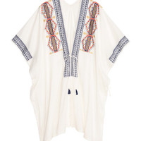 H&M Embroidered Poncho $29.99