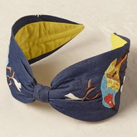 Goldfinch Denim Headband