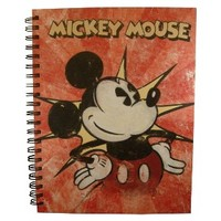 3-subject Vintage Mickey Mouse Notebook