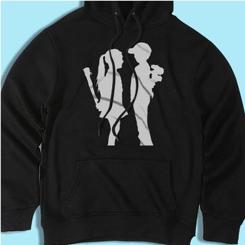 Banksy Girl And Boy Relationship Mean Men'S Hoodie