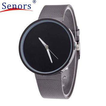 New Superior Unisex Metal Mesh Band Fashion Quartz Wrist Watch