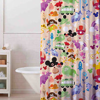 """Hot Disney Collage All Character Custom Shower Curtain 60""""x 72"""" Print On Limited"""