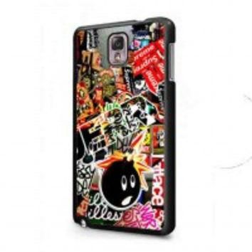 Sticker Bomb Supreme and illest for samsung galaxy note 3 case