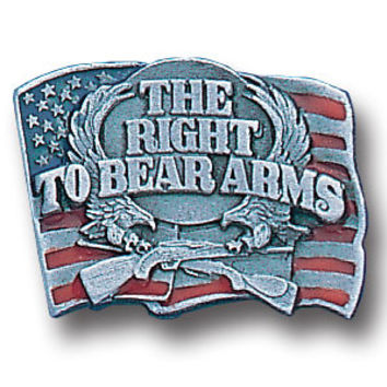 Collector Pin - Right To Bear Arms