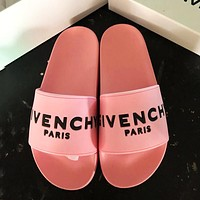 Givenchy Tide brand men and women comfortable and relaxing beach sandals Pink