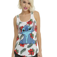 Disney Lilo & Stitch Ready To Luau Girls Tank Top
