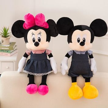 2018 new plush toy new Mickey Mouse Minnie plush doll toy gift boy girl birthday gift children's toys series