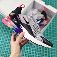 Nike Air Max 270 Be True Multi Color Ar0344-500 Betrue Sport Running Shoes - Best Online Sale