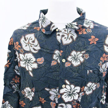 Vintage Hawaiian Tropical Walmart Print Pattern Shirt 2XL