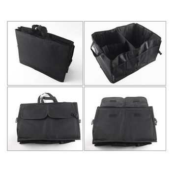 New Multipurpose Trunk Pouch Car Glove Box Storage Cubby Box Collapsible Tidy Car Bag auto Organizer hot selling