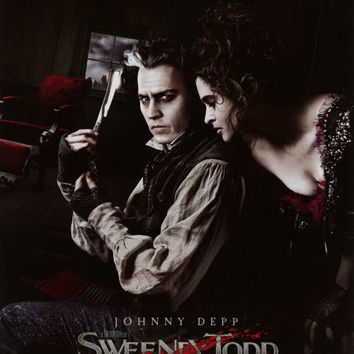 Sweeney Todd: The Demon Barber of Fleet Street 27x40 Movie Poster (2007)