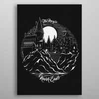 The Magic Never Ends by StudioM6 Designs | Displate