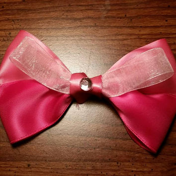 Disney's Sleeping Beauty inspired handmade hair bow